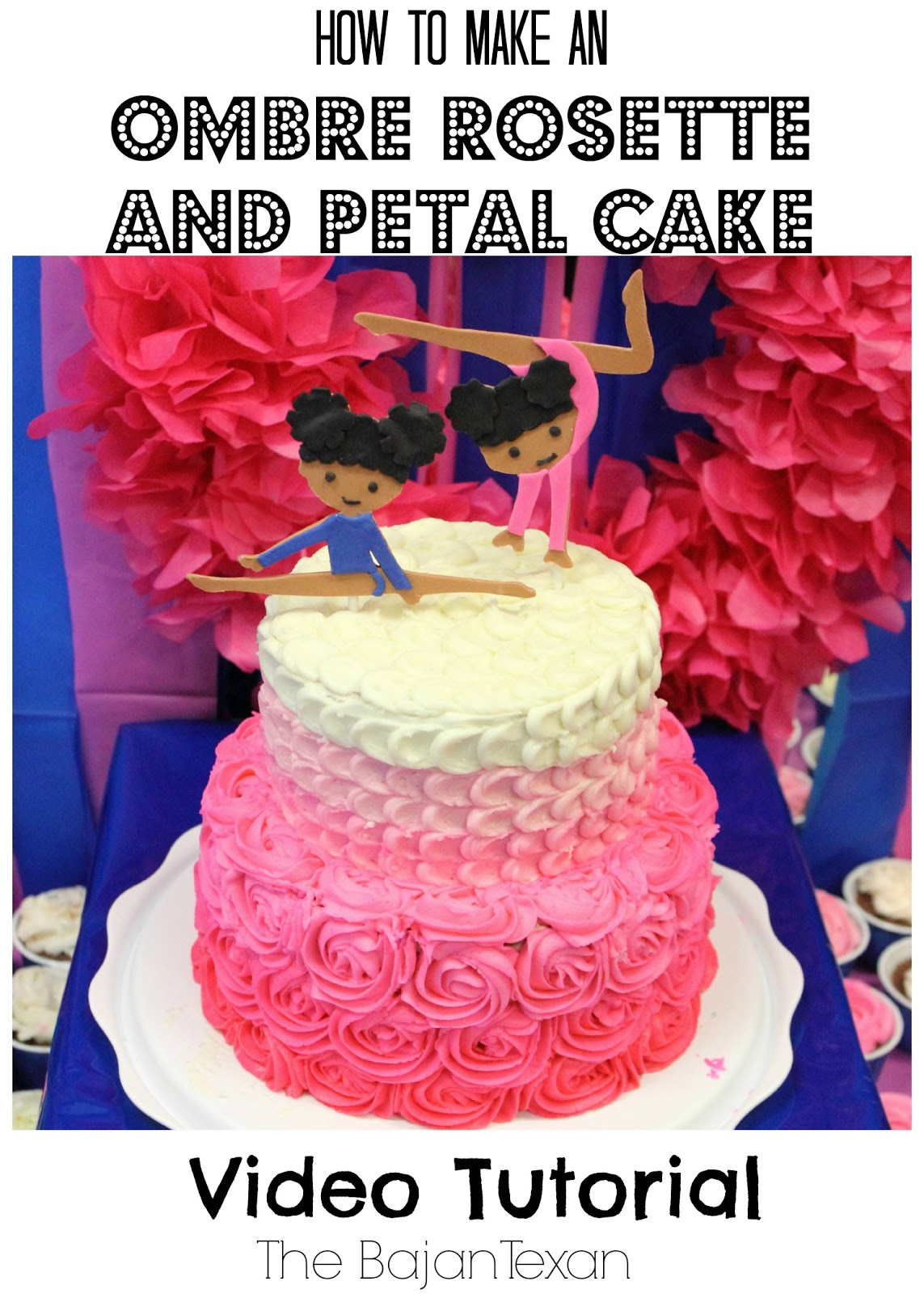 how to make a 2 layer wedding cake cake ideas rosette petal two tier cake tutorial the 15768