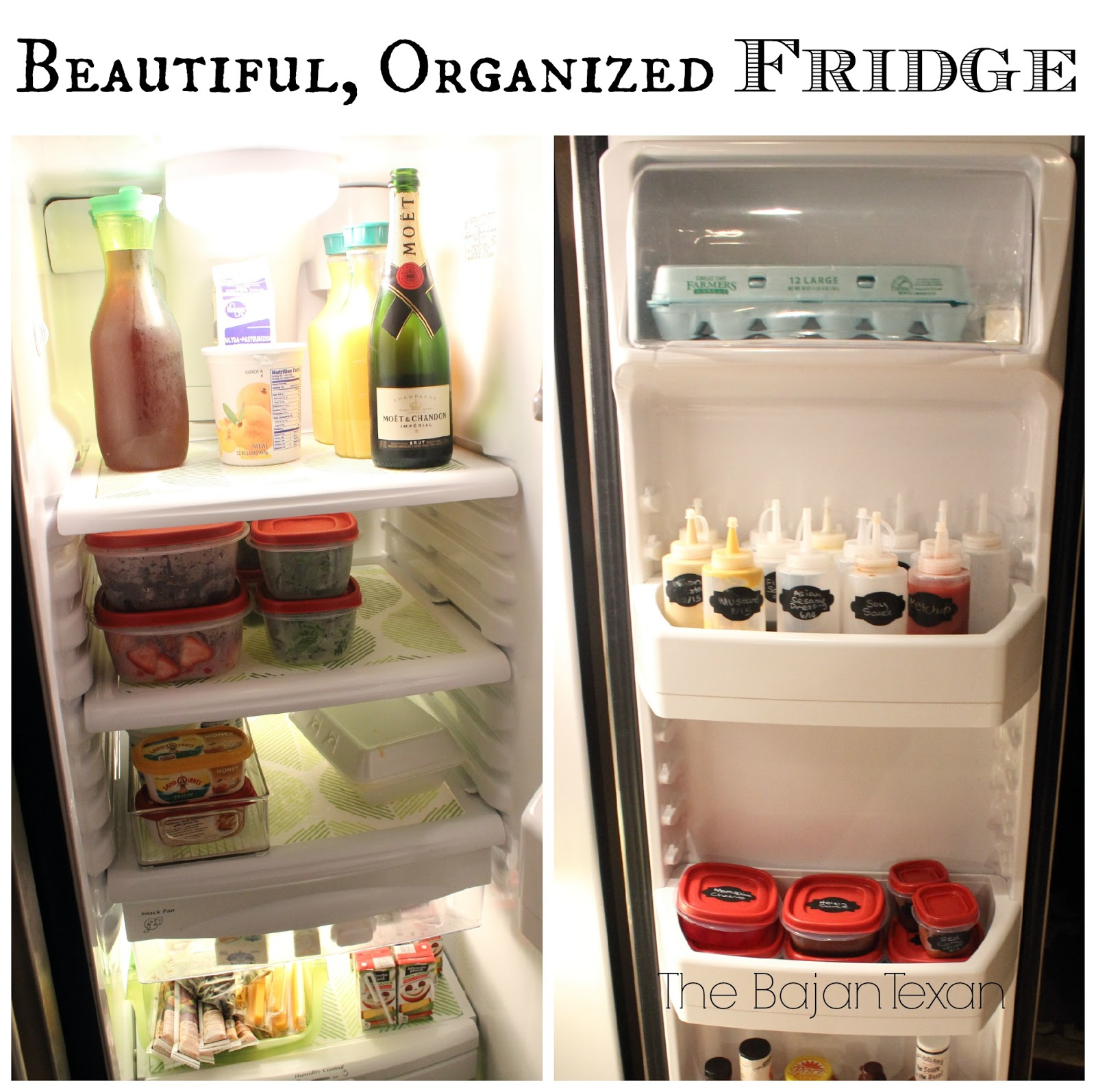 Fridge Organization Video – The Bajan Texan