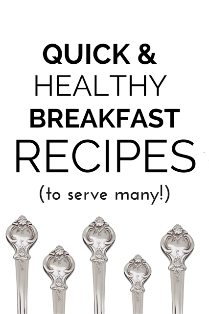 quick healthy breakfast recipes